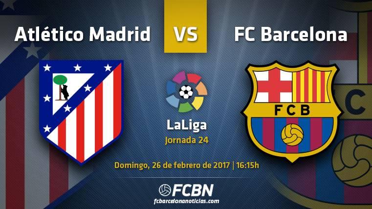 Atlético-Barça: Como si de una final de Champions se tratara