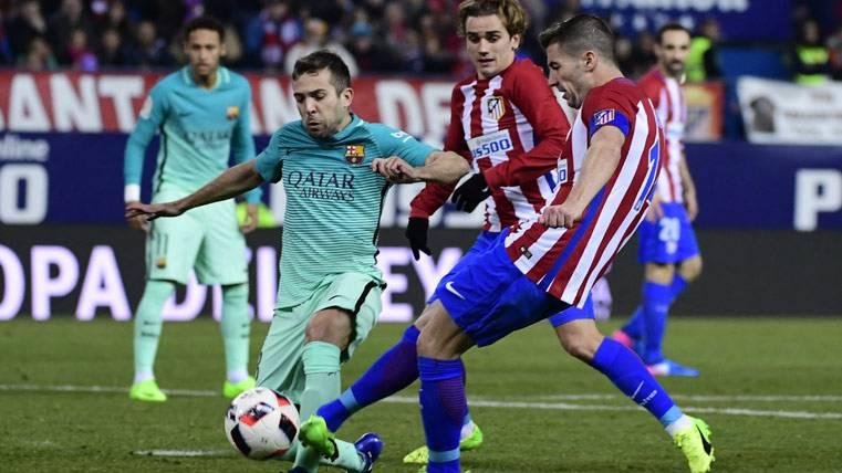¡Quinto partido de Liga seguido de Jordi Alba en el banquillo!