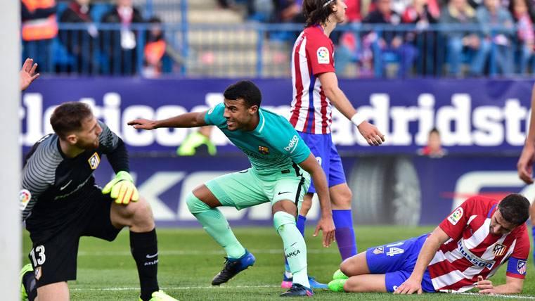 PROVIDENCIAL: Gol balsámico de Rafinha ante el Atlético