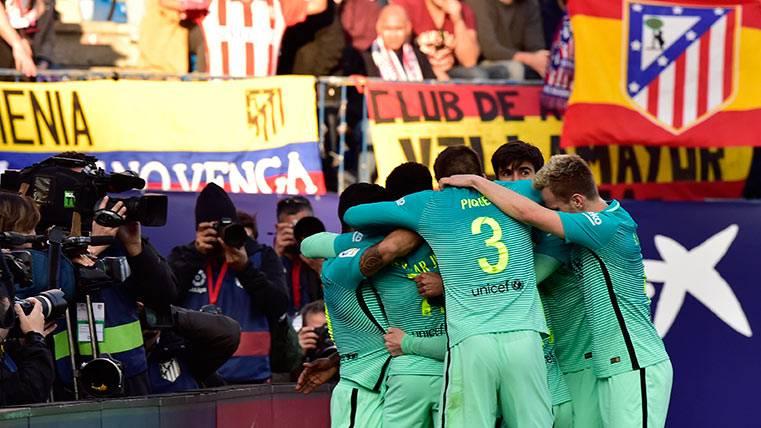 OBJETIVO CUMPLIDO:El Barça, líder en solitario provisionalmente
