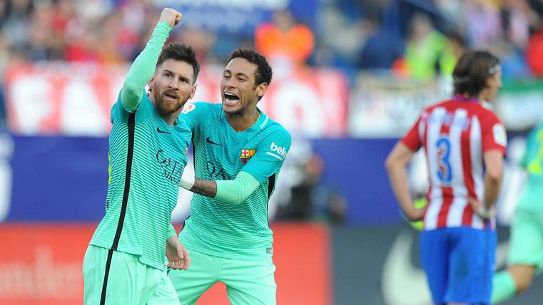 """ÍDOLO: Messi, más Pichichi y """"Bestia Negra"""" ante el Atlético"""