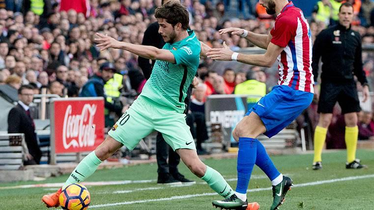 Tras el susto de Sergi Roberto, ¿fichará ya un lateral el Barça?