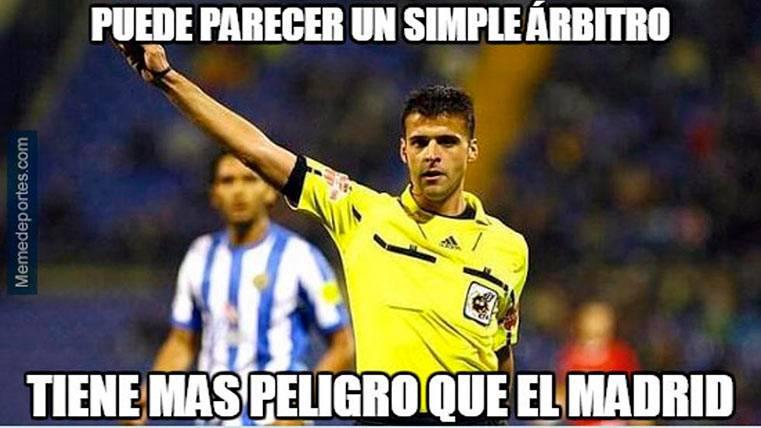 """Los """"memes"""" del Villarreal-Madrid apuntan a Gil Manzano"""