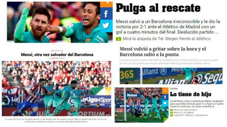 """La prensa mundial, unánime: """"En Madrid ven a Messi y lloran"""""""