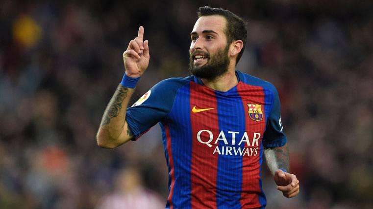 ¡El Barça puede solicitar la baja de Aleix Vidal a LaLiga!