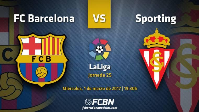 FC Barcelona-Sporting: A golear frente a un rival mermado