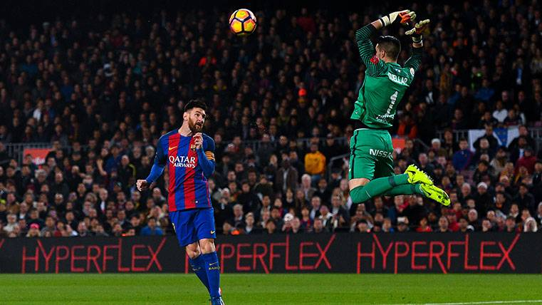 Leo Messi celebró sus 500 partidos con un golazo de cabeza