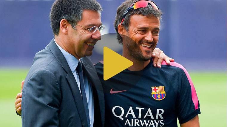 La respuesta insititucional del Barça a la decisión de Lucho