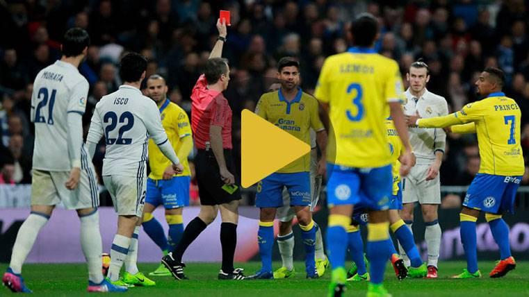 El Real Madrid-Las Palmas, rodeado de polémica arbitral