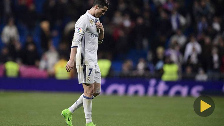 Cristiano Ronaldo debió ser expulsado ante el Betis