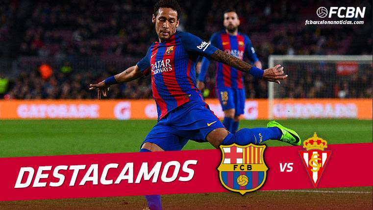 Neymar Júnior volvió a marcar y a liderar al FC Barcelona