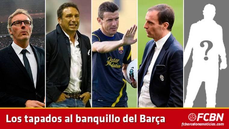 Blanc, Eusebio, Unzué o Allegri, algunos de los tapados para entrenar al Barça