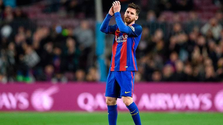 La Bota de Oro 2016-2017 sigue teniendo el nombre de Leo Messi