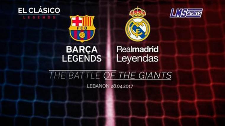 FC Barcelona y Real Madrid se verán las caras en un duelo de leyendas