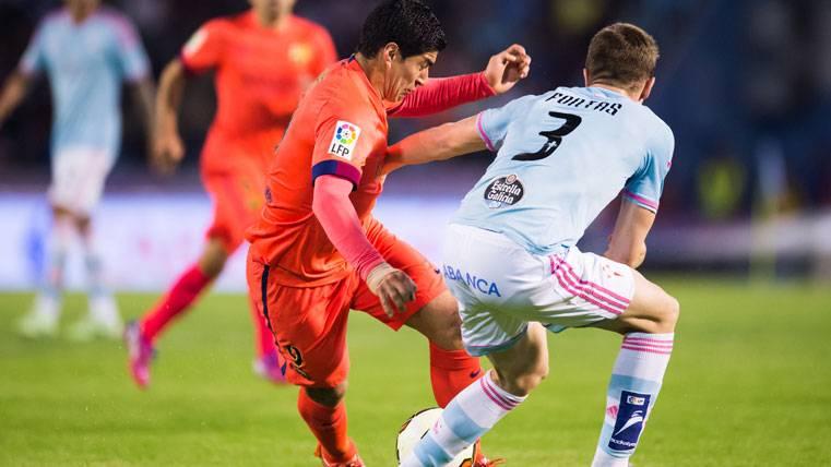 La lista de bajas del Barcelona-Celta en Liga 2016-17