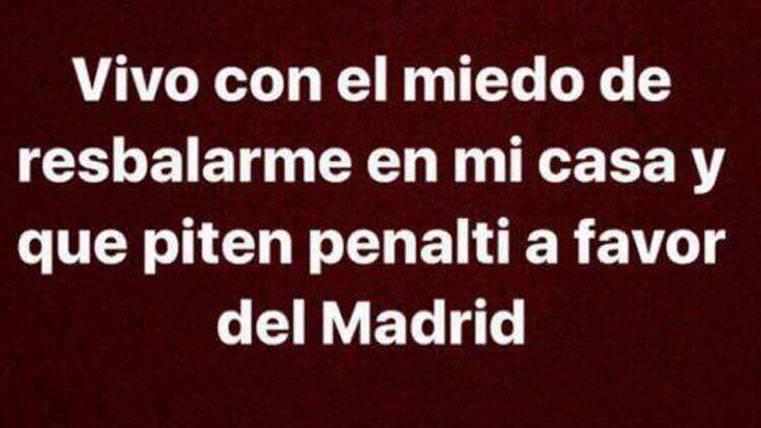 """El """"meme"""" que retrata una polémica arbitral del Real Madrid"""