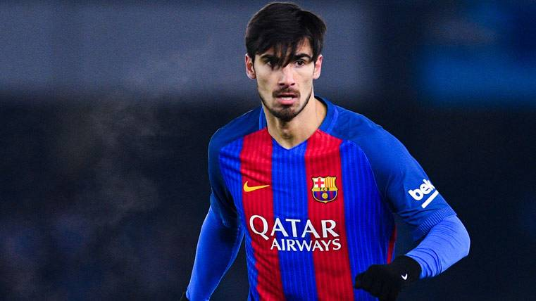 Enigmática baja de André Gomes en la convocatoria del Barça