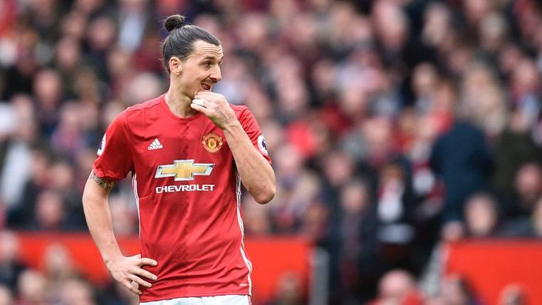 Este será el futuro de Zlatan Ibrahimovic después de su lesión