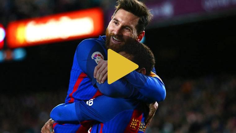 Vídeo resumen: FC Barcelona 5 Celta 0 (Liga J26)