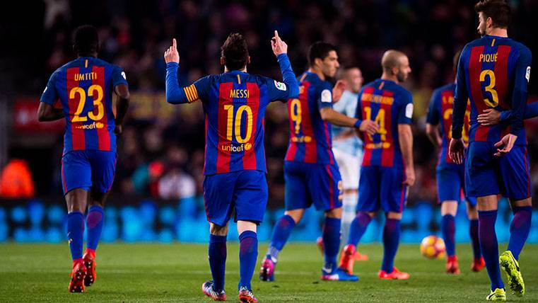 Los dos últimos resultados le valdrían al Barça para remontar
