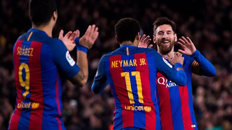 El Barça, a cuatro goles para superar su récord en Liga