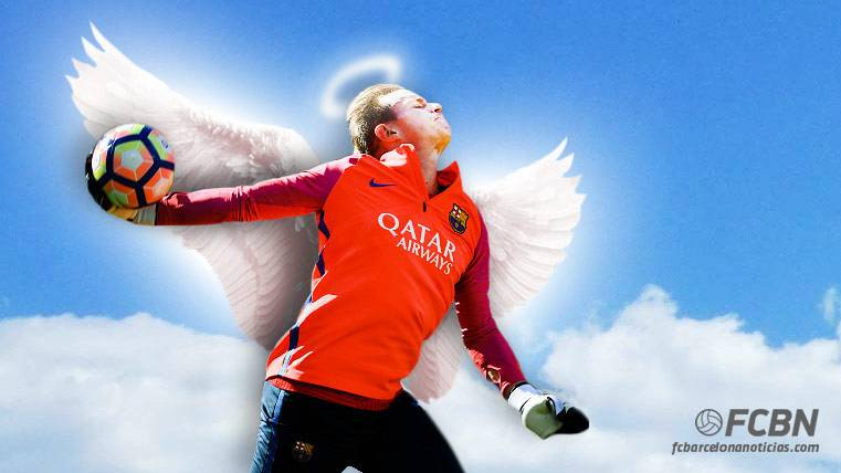 Ter Stegen, el ángel que protegerá al Barça del PSG