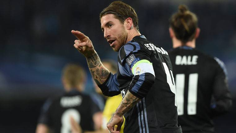 """Ramos: """"Que no pase el Barça, dormiré más tranquilo"""""""