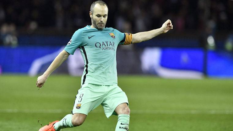 La arenga motivadora de Iniesta para el Barcelona-PSG