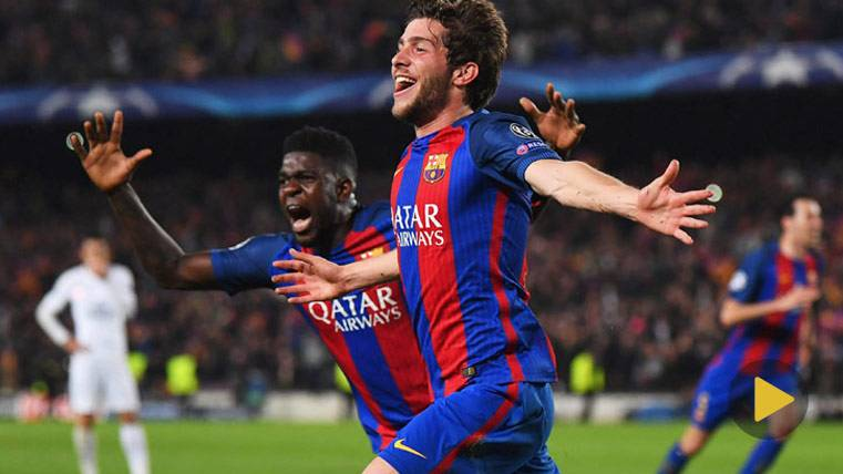 ¡Locura absoluta en la narración del gol de Sergi Roberto!