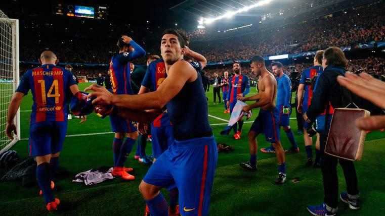 ¡El Barcelona sacó los colores a la UEFA al pasar a cuartos!