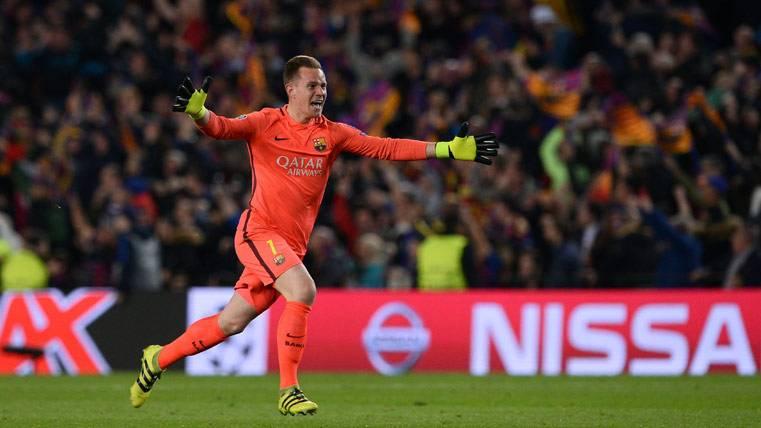 """Ter Stegen, el héroe """"olvidado"""" de la remontada del Barça"""