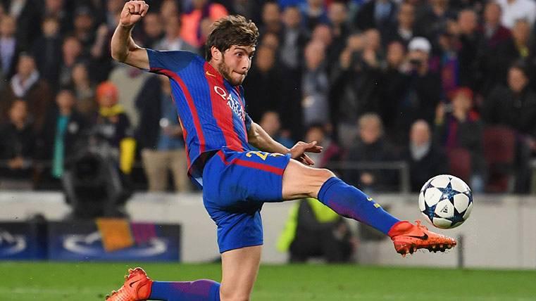 Sergi Roberto, de pretendido por el Madrid a hacer historia culé