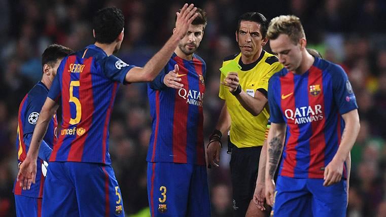 Sergio Busquets se perderá la ida de los cuartos con el Barça