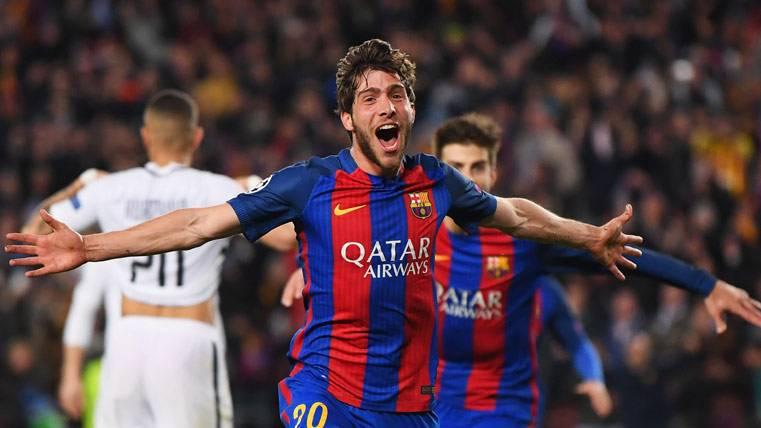 """Sergi Roberto, historia del Barça: """"No sabía si era un sueño"""""""