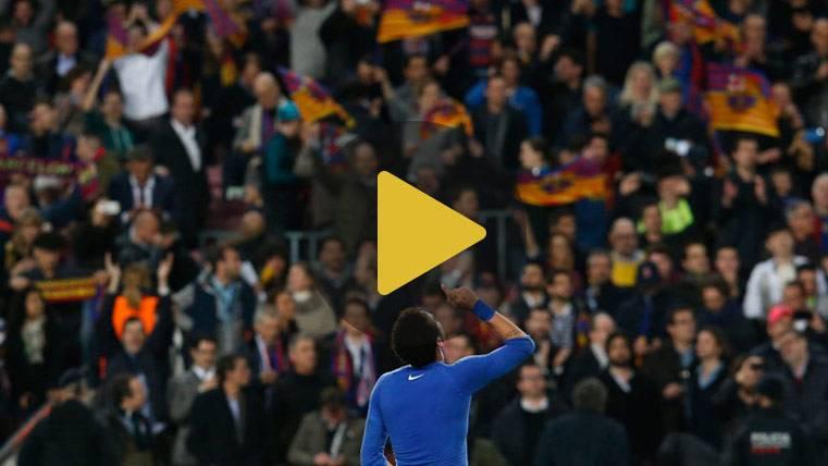 La UEFA abre expediente al Barça por invasión de campo