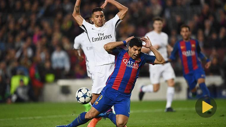 El vídeo que demuestra que el de Luis Suárez fue penalti
