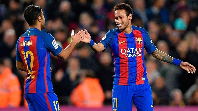 CONFIRMADO: Neymar y Rafinha, bajas por lesión en el Barça