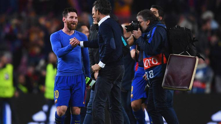 El Barcelona quiere despedir a Luis Enrique con otro triplete