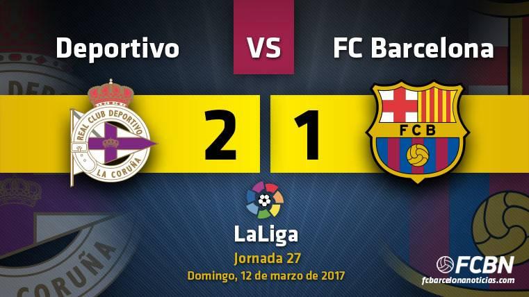 Duro golpe de realidad de un FC Barcelona sin gol ante el Dépor