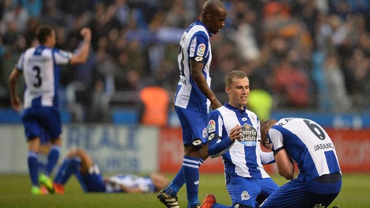 POLÉMICA:Córner inexistente en el segundo gol del Deportivo