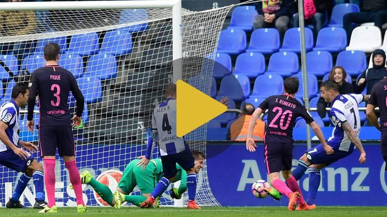 Vídeo resumen: Deportivo 2 Barcelona 1 (LaLiga J27)