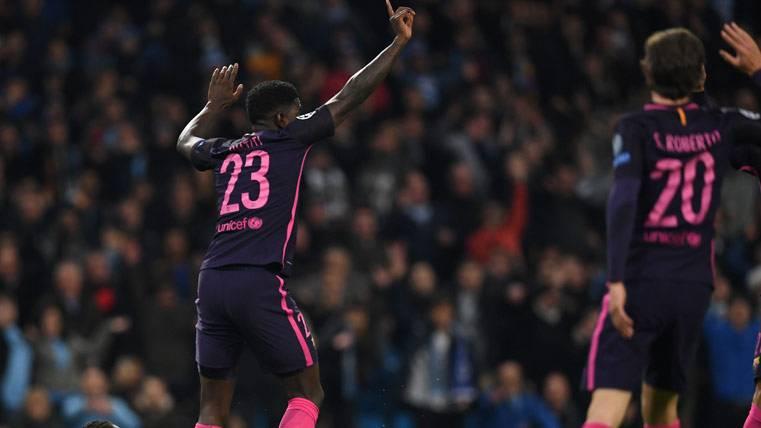"""La """"superstición"""" de Umtiti en Liga con el Barça no tiene fin"""