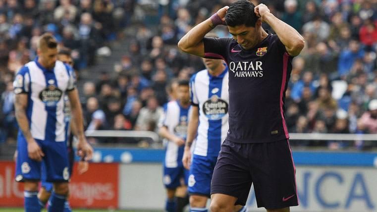 Primera vez que el Barça pierde tras un gol de Luis Suárez