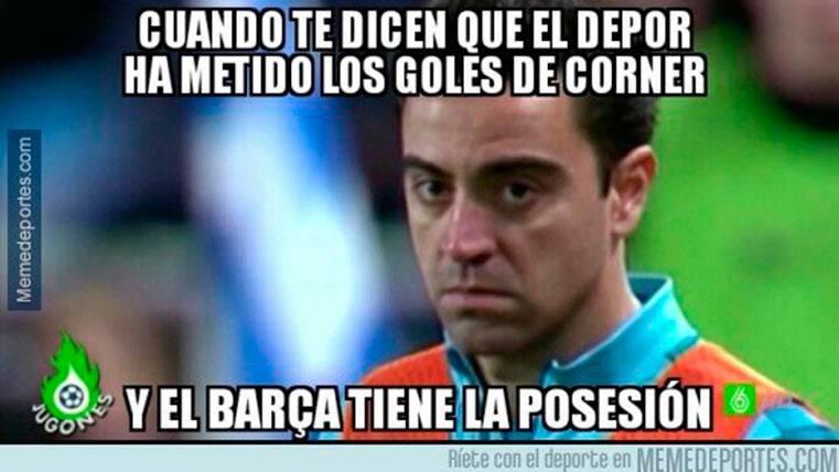 """Estos son los mejores """"memes"""" del Deportivo-FC Barcelona"""