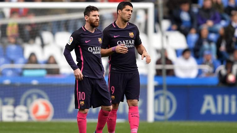 """Messi y Luis Suárez se """"pican"""" hablando de otros deportes"""