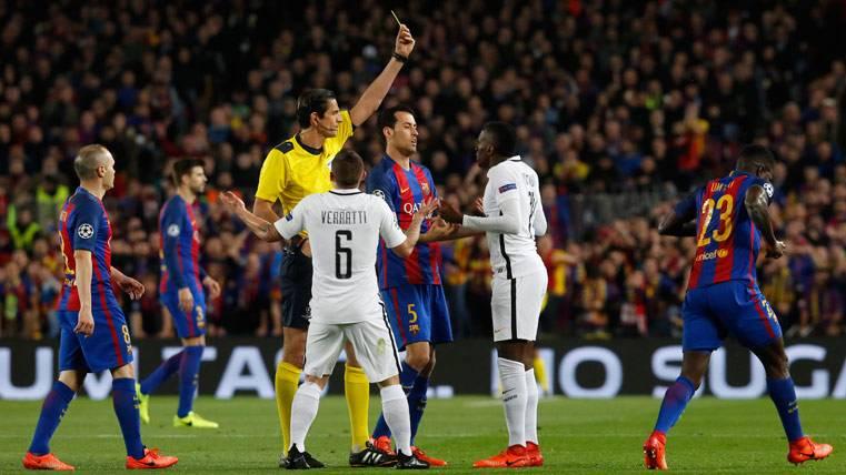 POLÉMICA: ¡Denuncia del PSG por el arbitraje del Camp Nou!