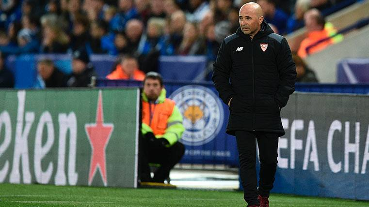 El Sevilla de Jorge Sampaoli, eliminado de la Champions