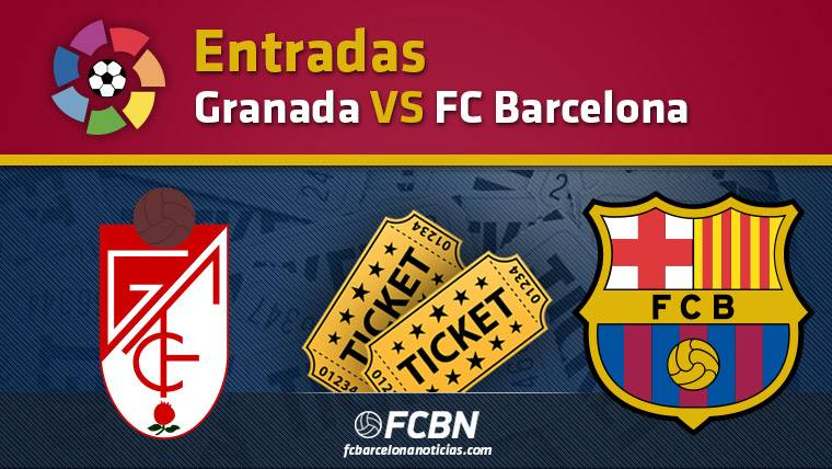 Entradas Granada contra FC Barcelona - Liga