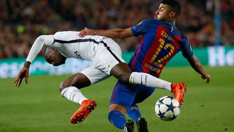 SORPRESA: ¿Puede dejar Rafinha el Barça a final de curso?