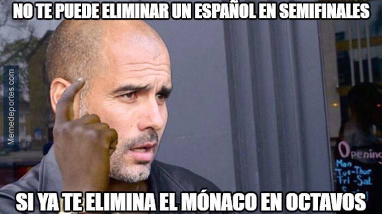 "El ""meme"" que refleja la realidad de Guardiola en Champions"